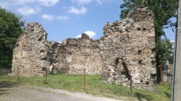 Kościół Św. Anny - ruiny