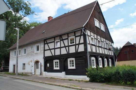 Sokołowsko: Dom ul. Główna 7, dom Hauptmanna